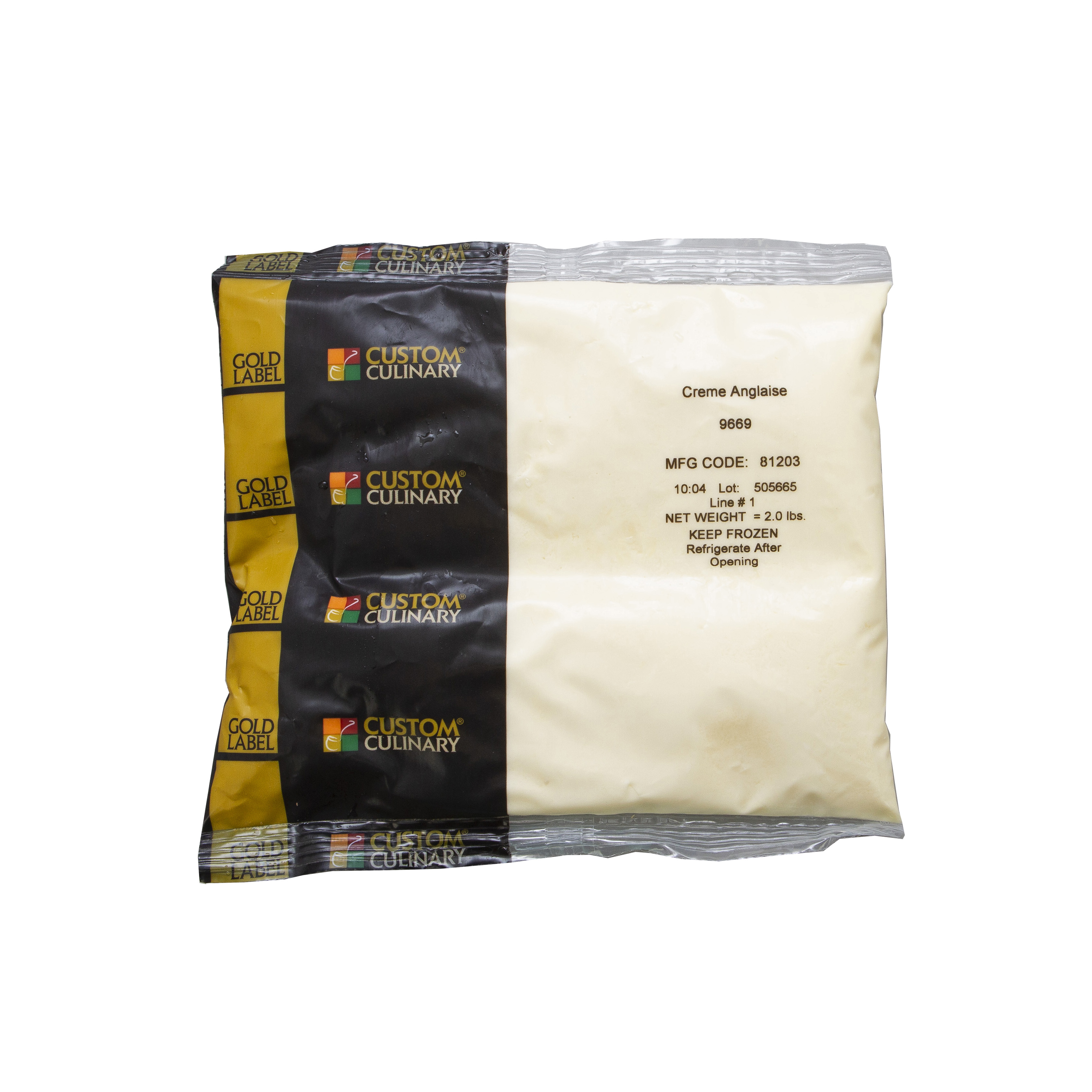 9669 - Gold Label Ready-To-Use Creme Anglaise Sauce