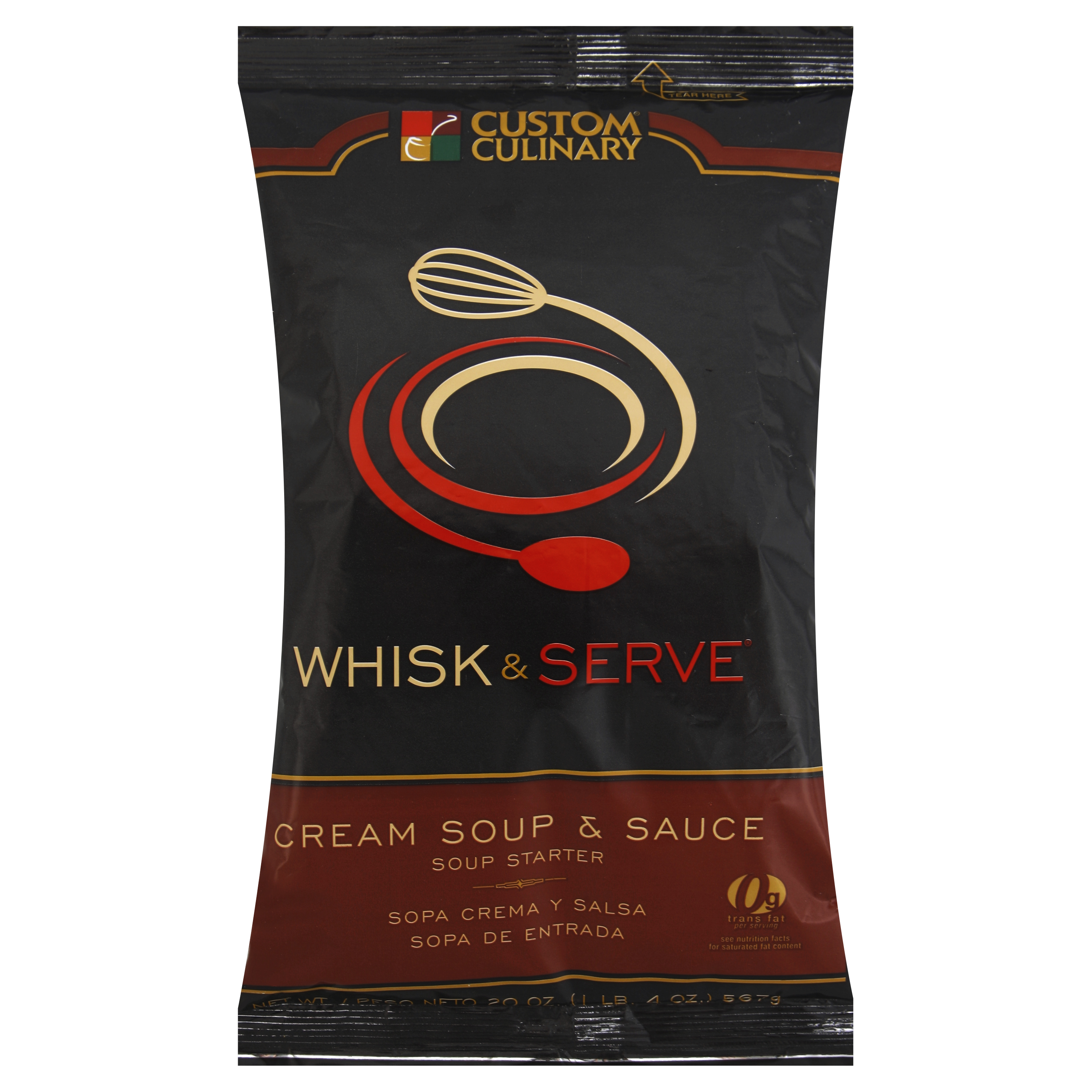 1285 - Whisk & Serve Cream Soup Sauce Starter