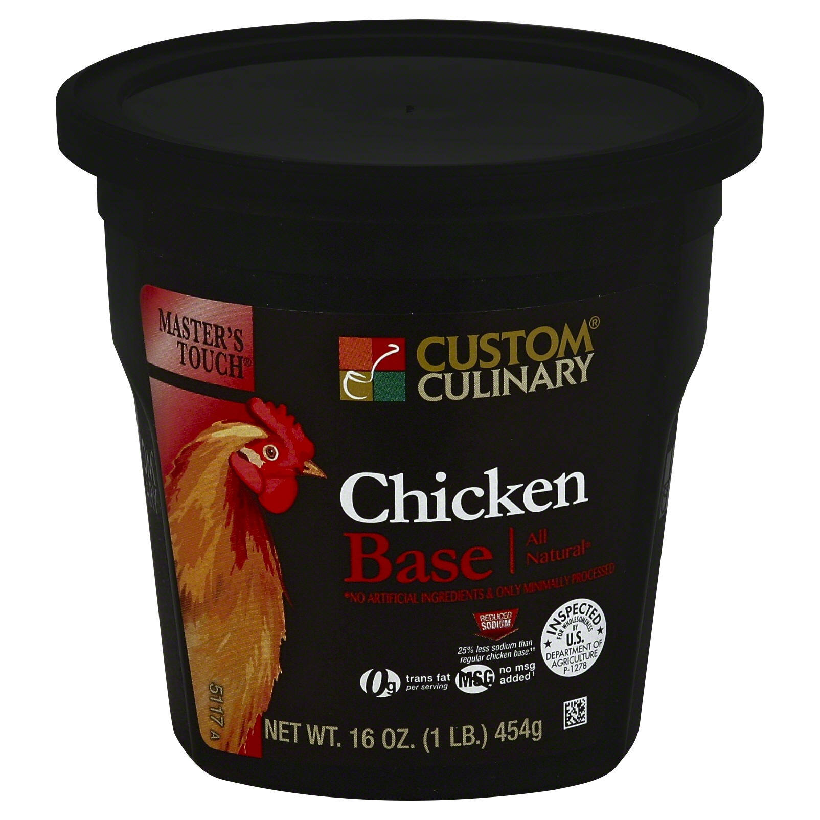 5117 - Masters Touch All Natural Reduced Sodium Chicken Base