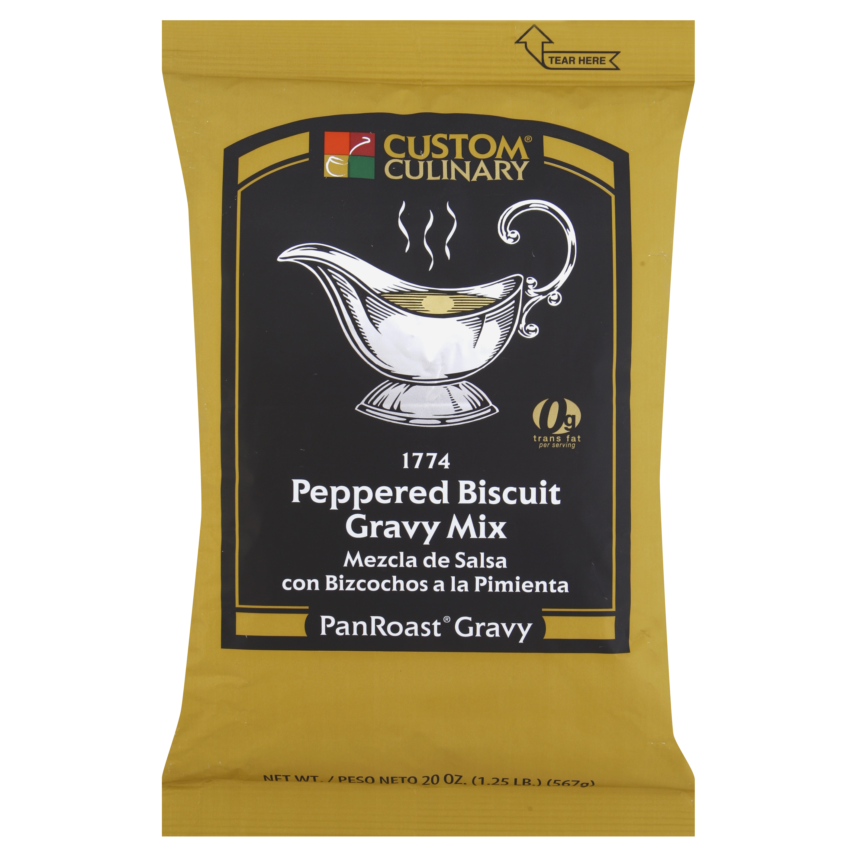 1774 - PanRoast Peppered Biscuit Gravy Mix