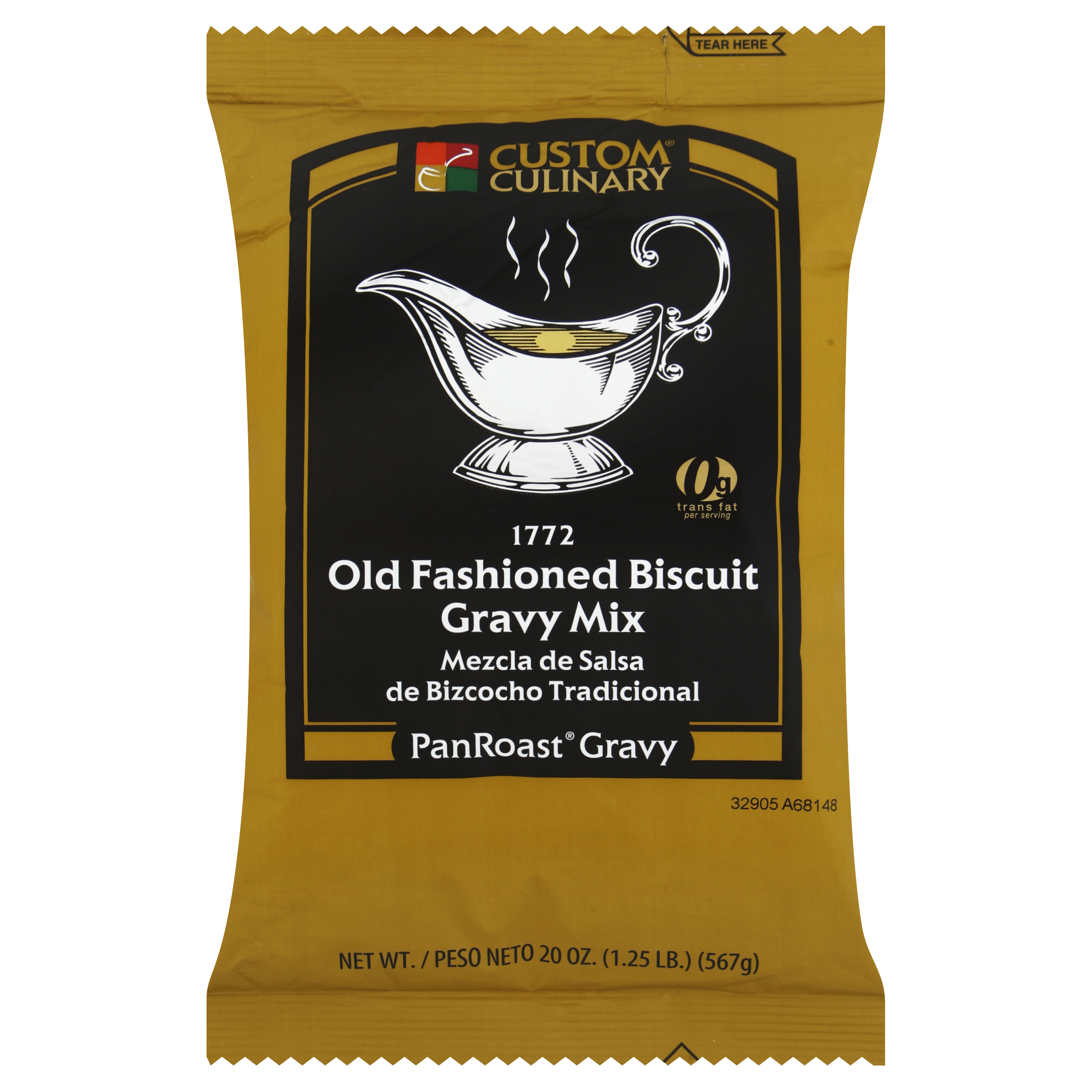 1772 - PanRoast Old Fashioned Biscuit Gravy Mix