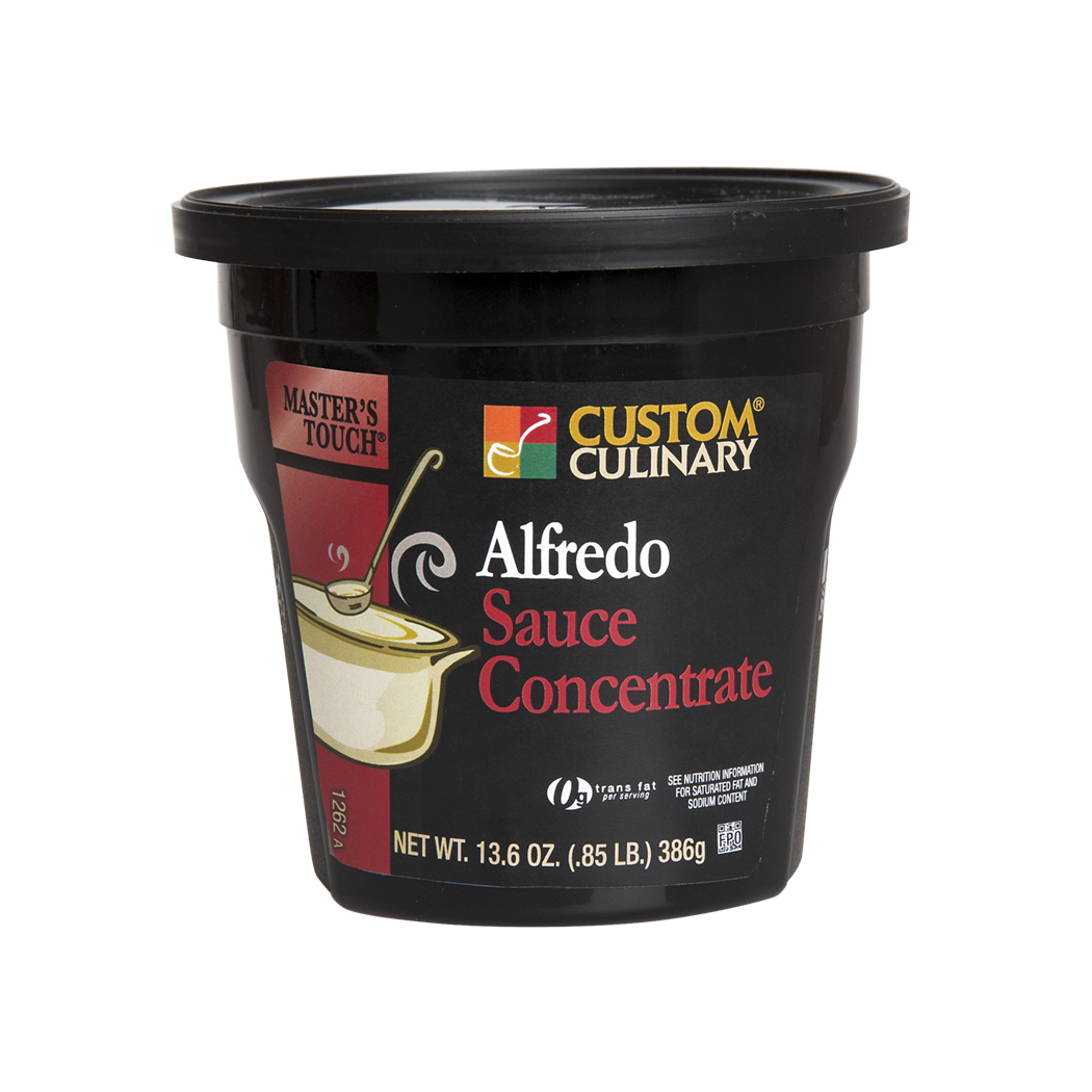 1262 - Masters Touch Alfredo Sauce Concentrate